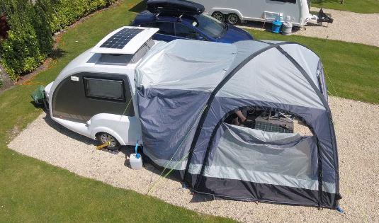 Premium Go-Pod Micro Touring Caravan