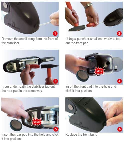How To Replace Winterhoff Caravan Hitch Friction Pads