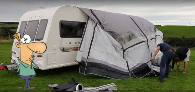 How To Take Down/Pack Away An Awning