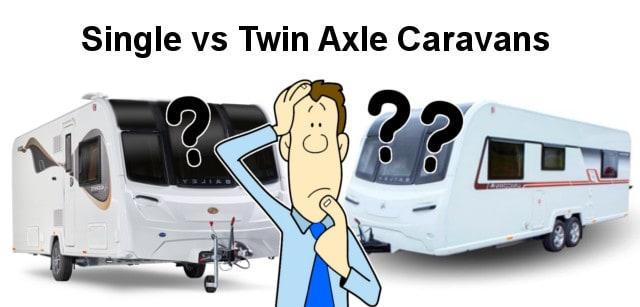 Single vs Twin Axle Caravans