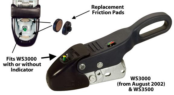 Winterhoff WS3000 Hitch Friction Pad Replacment