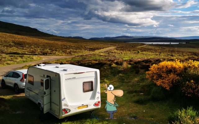How To Go Off-Grid in a Caravan/Motorhome